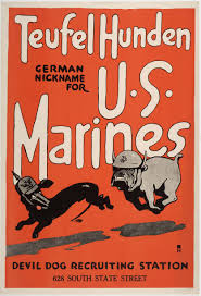 Marines as Devil Dogs
