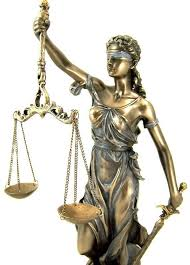 Lady Scales of Justice