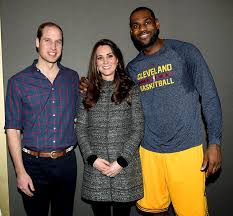 Will, Kate and LeBron