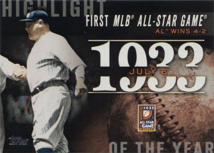 Image result for baseballs first all-star game