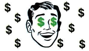 Dollar Signs in Eyes