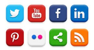 Social Media 5-Icons